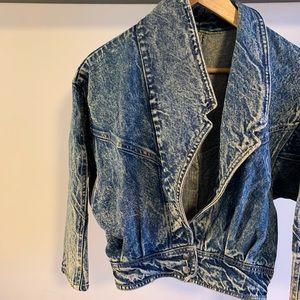 Jackets & Blazers - 80s Acid Wash Denim Jacket